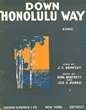Cover of Down Honolulu way